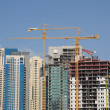 Construction site in the city of Dubai — Stock Photo