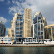 Buildings at Dubai Marina - Stock Photo