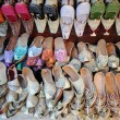 Traditional Arabic Shoes in Dubai, United Arab Emirates — Photo