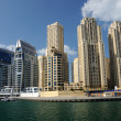 Dubai Marina, United Arab Emriates - Stock Photo