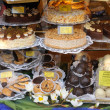 Sweets in pastry shop in Heidelberg, Germany - Stockfoto