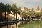 Hotel de madinat jumeirah en dubai, emiratos árabes unidos — Foto de Stock