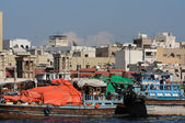 Dhows at Dubai Creek, United Arab Emirates — ストック写真