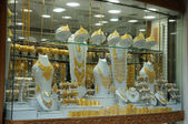 Jewelry at Dubai's Gold Souq — Stock Photo
