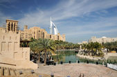 Madinat Jumeirah in Dubai, United Arab Emirates — Стоковое фото