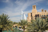 Madinat Jumeirah in Dubai, United Arab Emirates — Foto de Stock