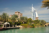 Madinat Jumeirah in Dubai, United Arab Emirates — Stok fotoğraf