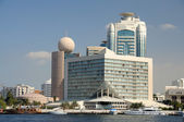 Buildings at Dubai Creek — Stock Photo