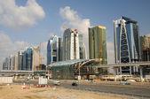Construction at Sheikh Zayed Road in Dubai — Stok fotoğraf