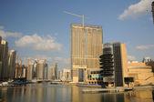 Highrise buildings at Dubai Marina, United Arab Emirates — Stock Photo
