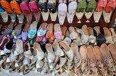 Traditional Arabic Shoes in Dubai, United Arab Emirates — Stock Photo