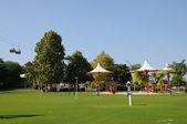 Park in Dubai, United Arab Emirates — Stock Photo