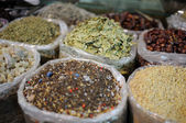 Arabic spices for sale in Dubai, United Arab Emirates — Stock Photo