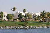 Dubai Creek Golf Course — Stock Photo