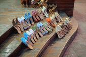 Oriental shoes in Dubai, United Arab Emirates — Stock Photo