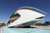 City of Arts and Sciences in Valencia, Spain. — Stock Photo