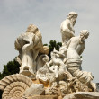 Neptune Statue at the Schonbrunn Palace in Vienna, Austria — Stock Photo