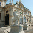 Statue at the Belvedere Palace in Vienna, Austria — Stock Photo
