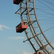 Stock Photo: Fragment of Prater - giant old ferris wheel in Vienna, Austria.