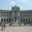 Heroes' Square - historical square in Vienna, Austria — Stock Photo