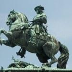 Statue of Prince Eugene of Savoy in Vienna, Austria — Stock Photo