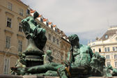 The Thunder Fountain (Donnerbrunnen) in Vienna, Austria — Stockfoto