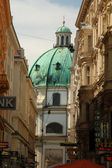 Streetscene in Vienna, Austria — Stock Photo