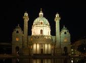 Die Karlskirche (Deutsch für Kirche St. Charles) in Wien, Österreich — Stockfoto