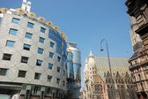 Stephansplatz in Vienna, Austria — Stock Photo