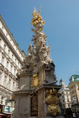 Pestsäule (plague column) in Vienna, Austria — Stock Photo
