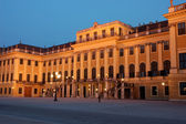 Schönbrunn Palace in Vienna at Night — Foto Stock
