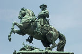Statue of Prince Eugene of Savoy in Vienna, Austria — Stockfoto