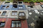 The Hundertwasser House in Vienna, Austria — Stock Photo