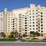 byggnaden på palm jumeirah, dubai — Stockfoto
