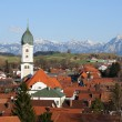 Stock Photo: Village in Bavaria, Germany