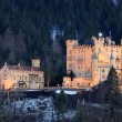 Castle Hohenschwangau in Bavaria, Germany — Stock Photo #7797058