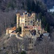 Historic Castle Hohenschwangau in Bavaria, Germany — Stock Photo #7797480