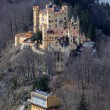Historic Castle Hohenschwangau in Bavaria — Stock Photo #7797654