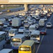 Traffic Jam at Sheikh Zayed Road in Dubai — Stock Photo