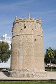 Eski arapça kale dubai, birleşik arap emirlikleri — Stok fotoğraf