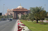 Emirates palace i abu dhabi, Förenade Arabemiraten — Stockfoto
