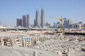 Construction site in Dubai — Stock Photo