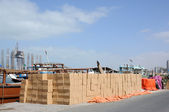 Storage at Sharjah Creek — Stock Photo