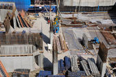 Construction site in Dubai — Stock Photo