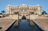The Emirates Palace in Abu Dhabi — Stock Photo