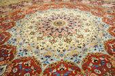 Beautiful oriental handmade carpet in Sheikh Zayed Mosque, Abu Dhabi — Stock Photo