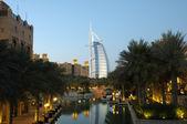 Resort madinat jumeirah, dubai — Stockfoto