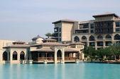 Orientalnym stylu architektury w Dubaju — Zdjęcie stockowe