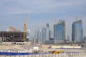 Cantiere di costruzione a dubai — Foto Stock