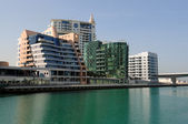 Waterside Buildings at Dubai Marina — Stock Photo